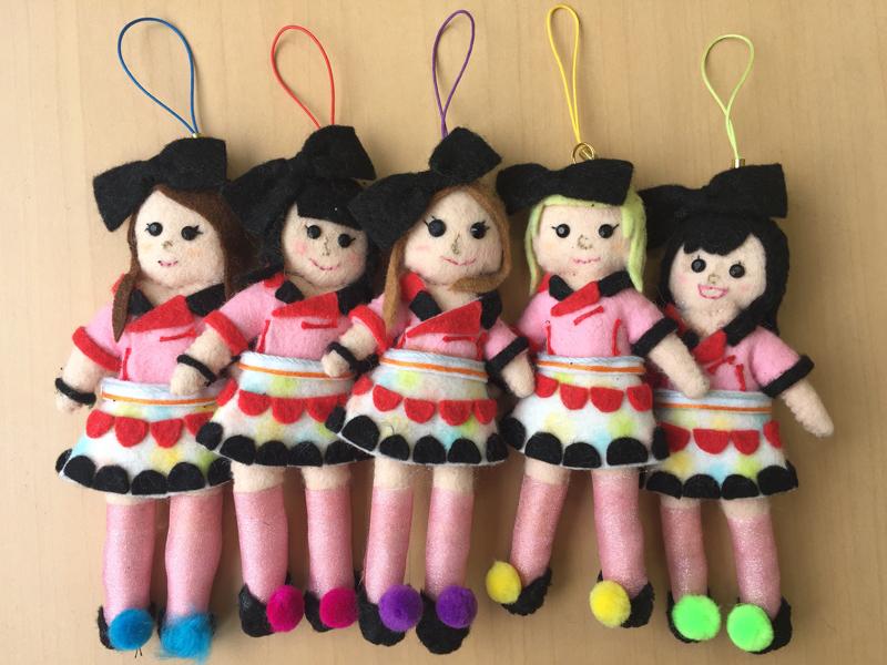「君とミライ作りたい!」MV使用お人形(5体)セットの画像