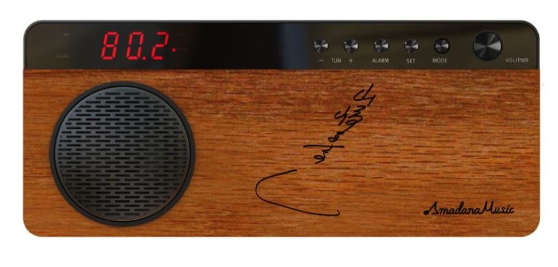 Amadana Music Radio  スペシャルサポーター「山崎まさよし」直筆サイン入りの画像