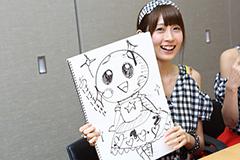 「マスコットキャラを作ってみよう!」企画メンバー直筆イラスト原紙セット(権田夏海)の画像
