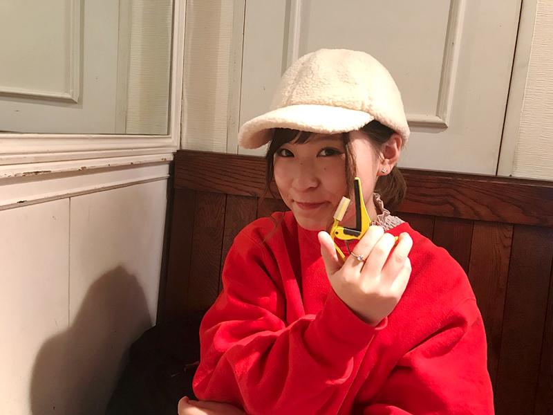 47都道府県ツアーで使用するカポ(サイン色紙付き)