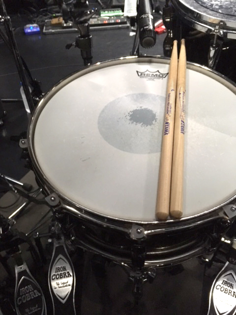 ドラム渡辺拓郎使用機材(スネアドラムヘッド)