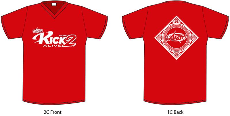 「KICK A'LIVE2」オリジナルライブTシャツ