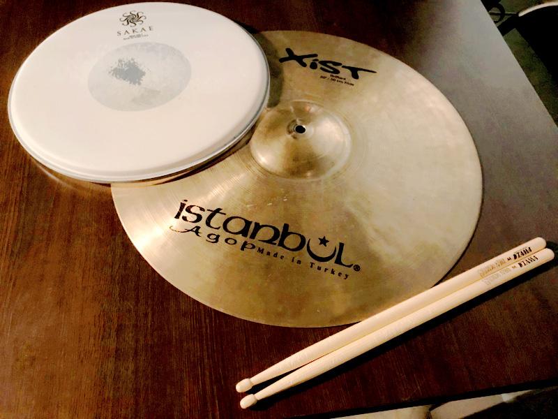 MV撮影で使用したドラム機材