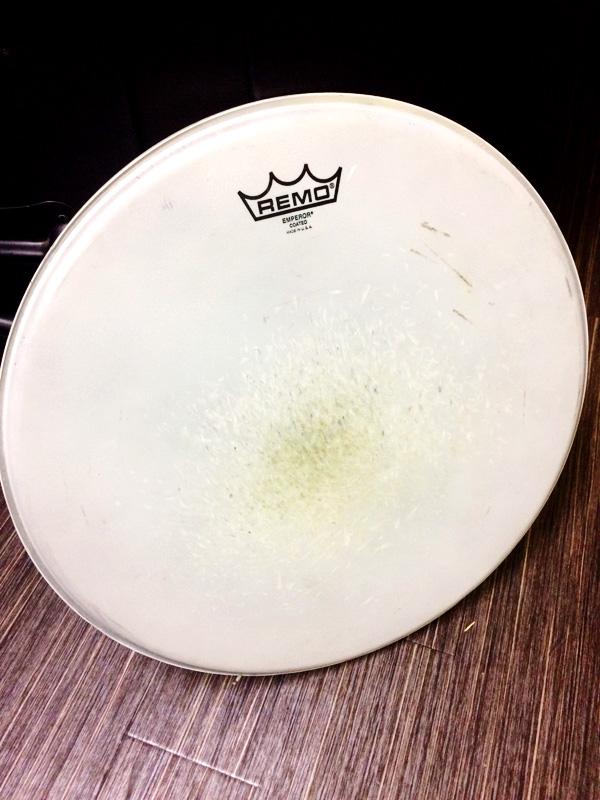 木村使用ドラムヘッド