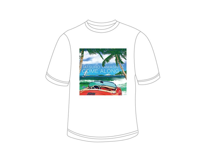 『COME ALONG 3』ジャケット写真Tシャツ