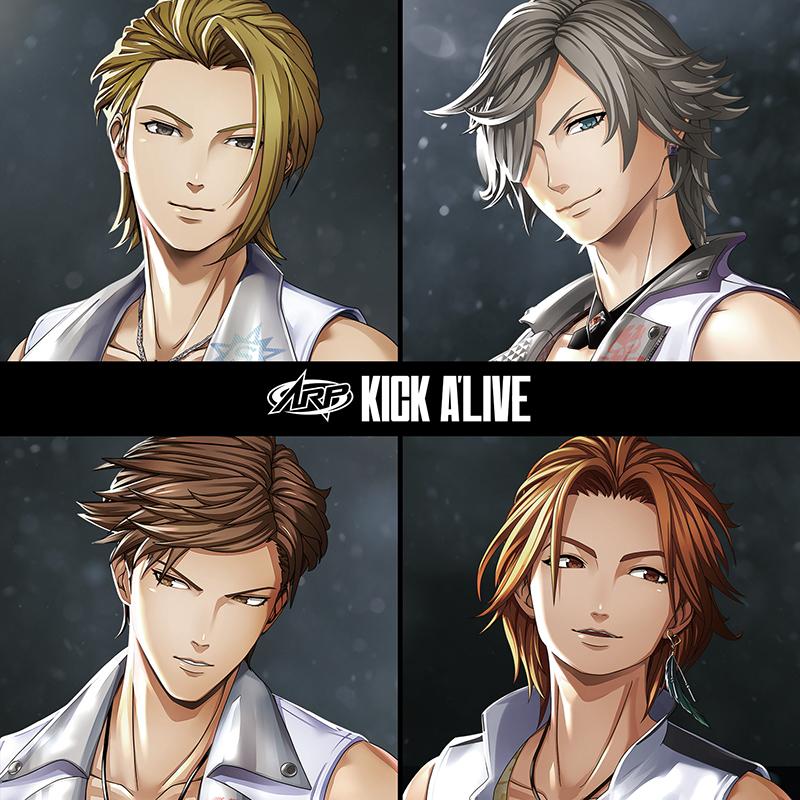 『KICK A'LIVE』 アルバムジャケ画