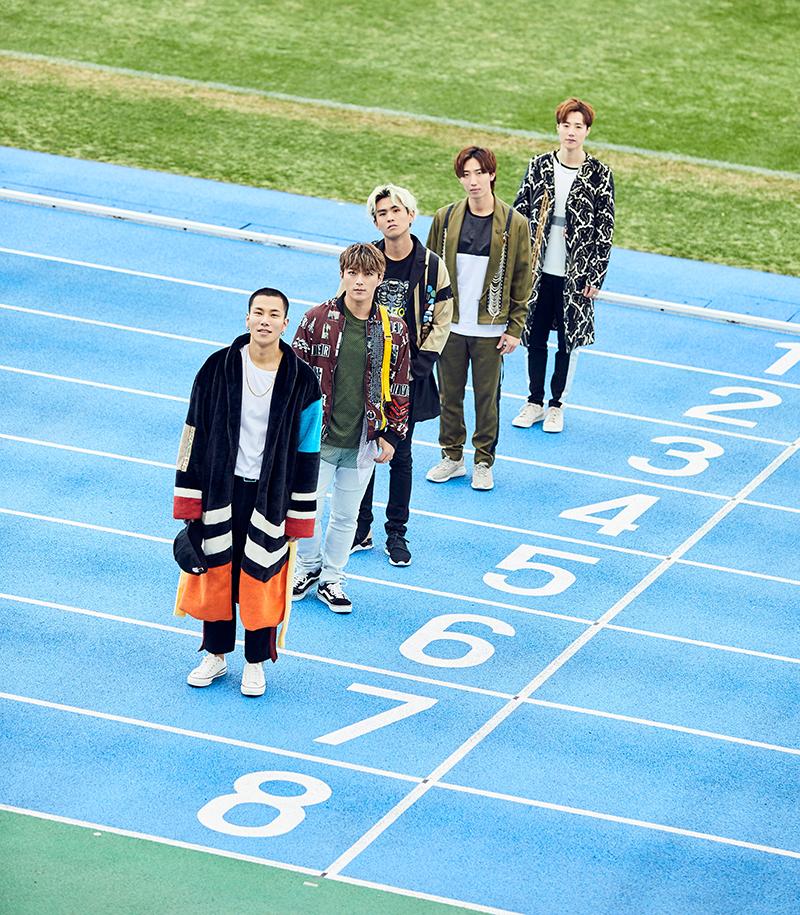 「CODE-V LIVE TOUR 2018〜NEXT ROAD〜」メインライブ衣装 プラン