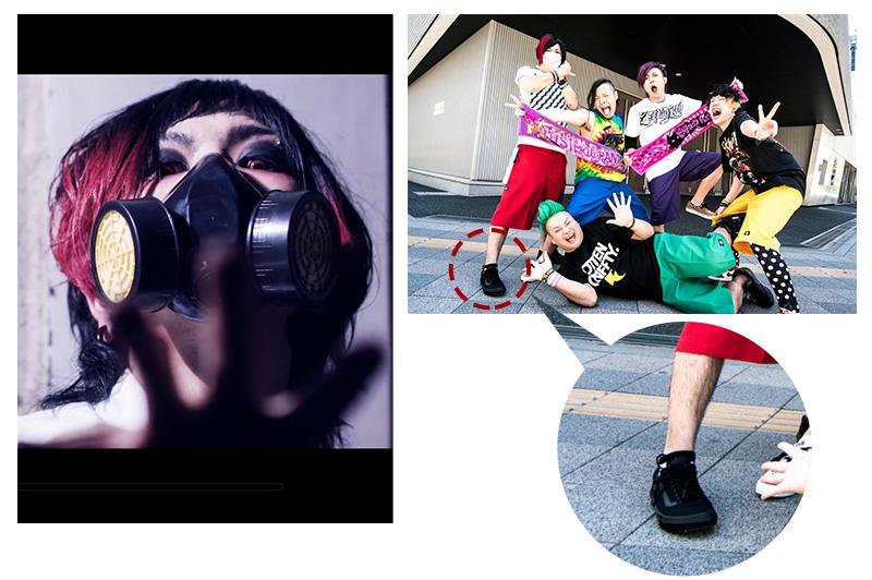 【Vo.とも】黒のVANSスニーカー&「Venom Shock」MV着用マスク