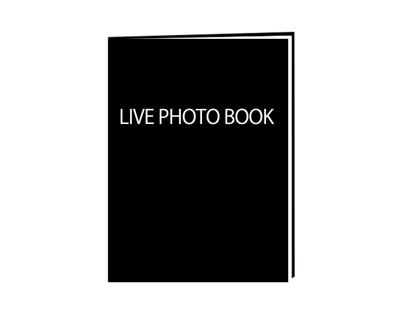 ライブ写真撮り下ろしフォトブック
