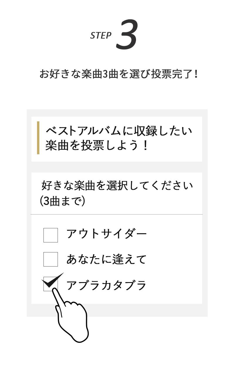 投票までの流れ step3