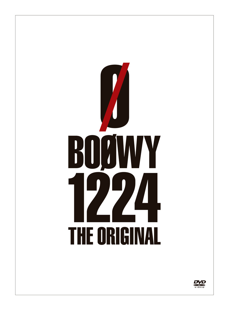 「BOØWY 1224 -THE ORIGINAL-」DVD