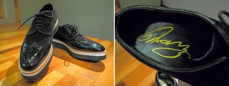MARCY 私物 革靴