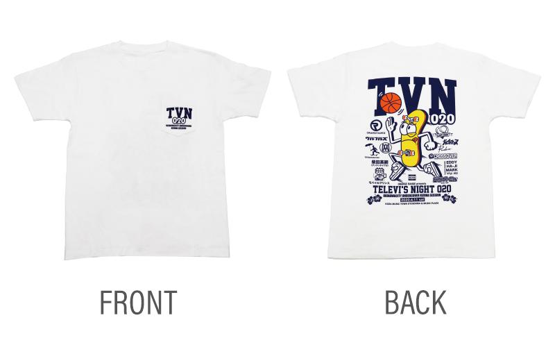 テレビズナイト020 ポケットTシャツ