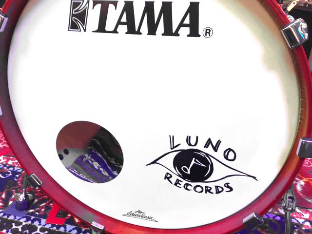 ドラム渡辺拓郎使用機材(バスドラムヘッド)