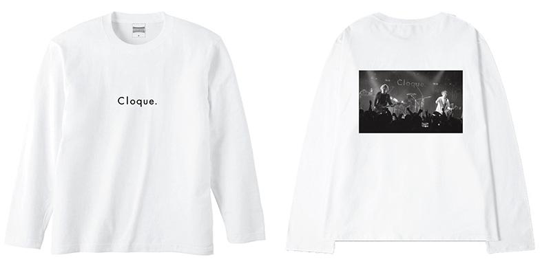 Cloque.ライブフォトTシャツ