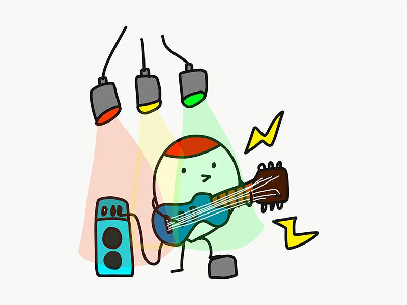 爆音のバンドライブをやりに行きます!