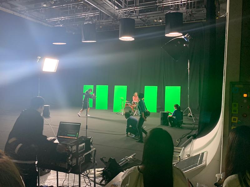 MV撮影現場