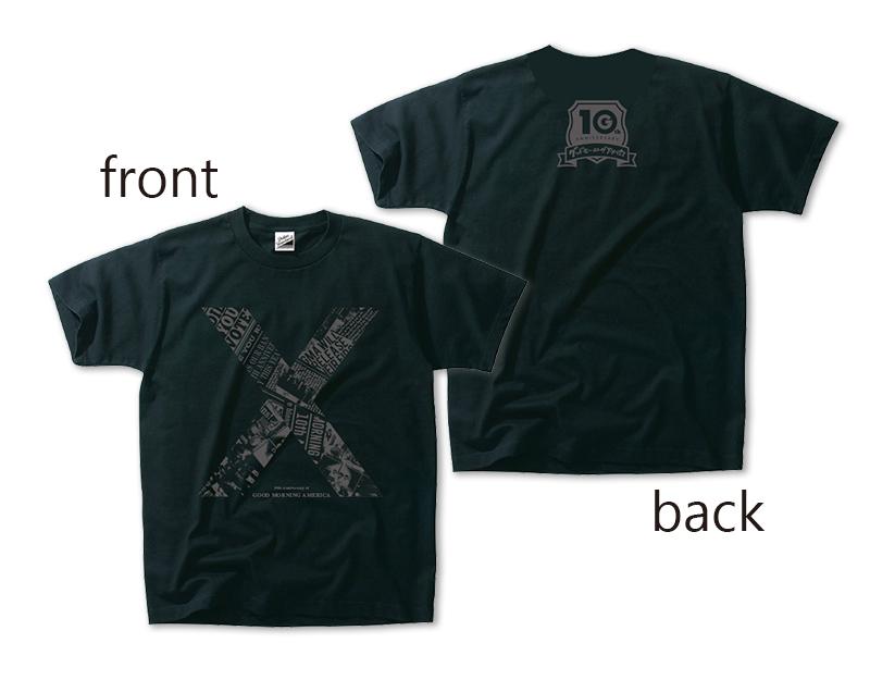 【WIZY限定】10周年記念Tシャツ