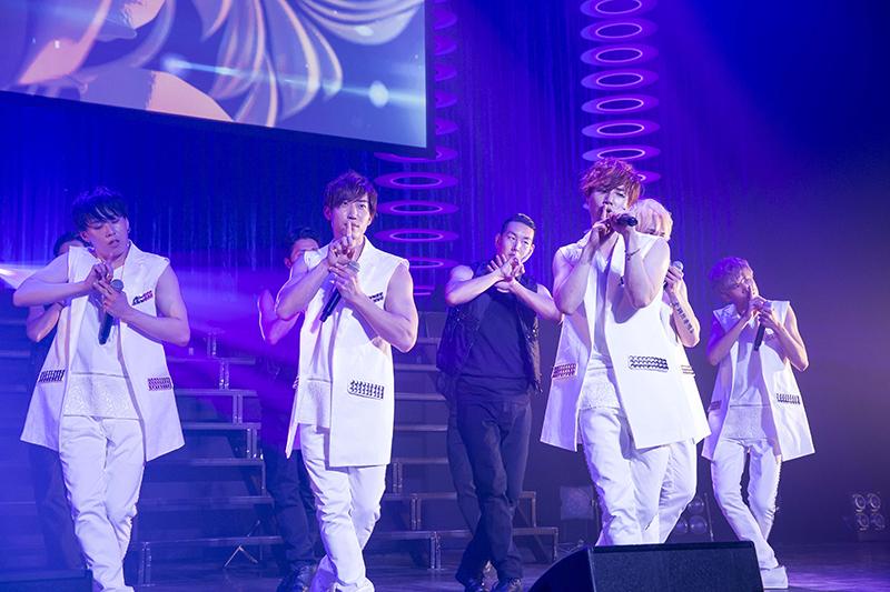 2016年MIRACLE発足5th Anniversaryワンマンライブ着用 白ロングベスト+パンツ プラン