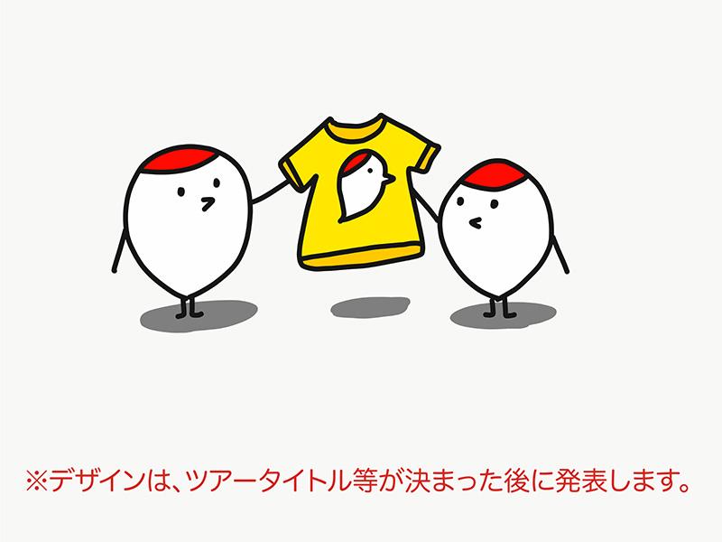 クラウドファンディング限定・47都道府県ツアーTシャツ