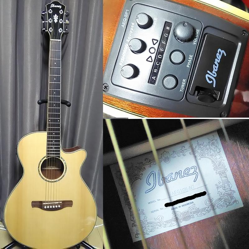 仁耶 使用ギター