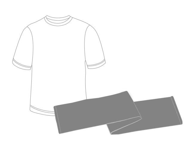 ツアーグッズセット(タオル/WIZY限定色Tシャツ)