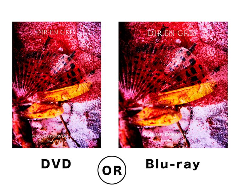 DVDとブルーレイ
