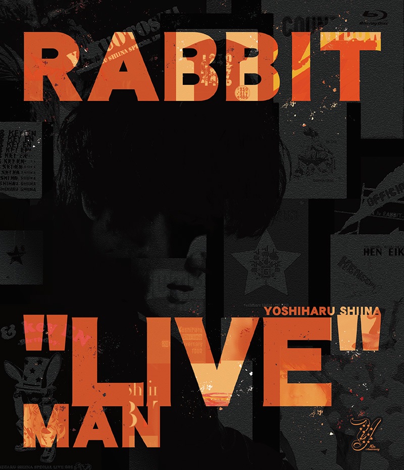 "LIVE Blu-ray「RABBIT ""LIVE"" MAN」"