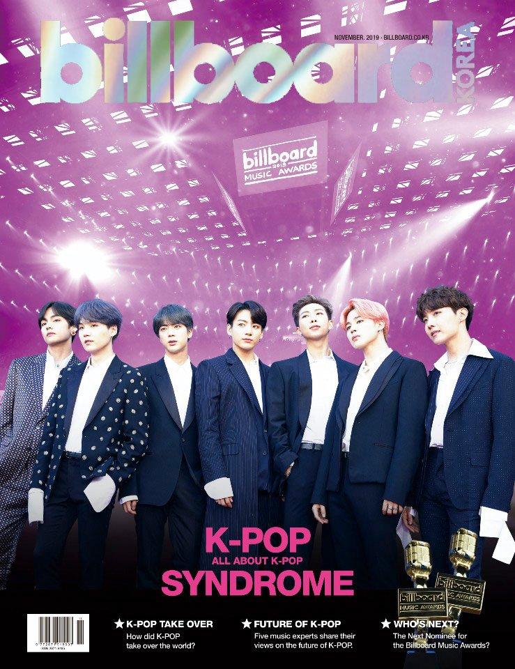 Billboard K-POP Magazine英語バージョン