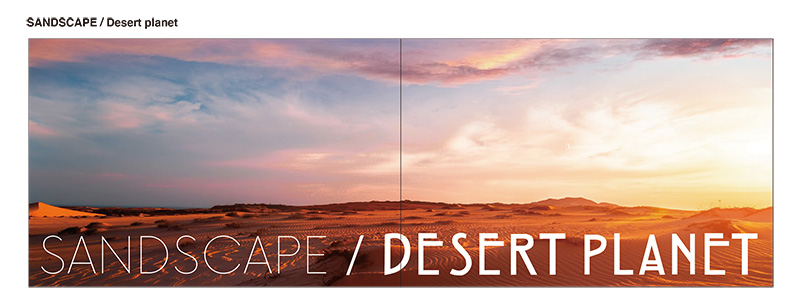 SANDSCAPE/Desert planet