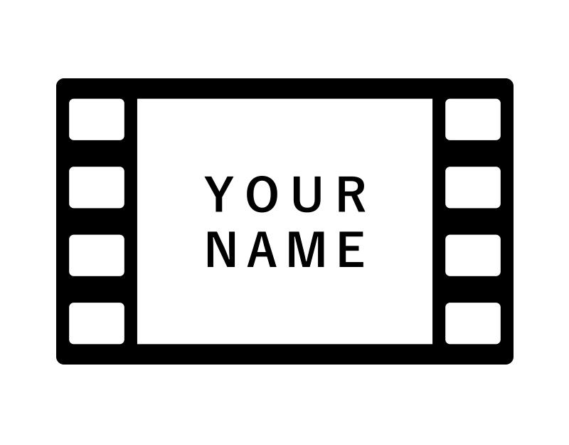 映画エンドロールへのお名前掲載