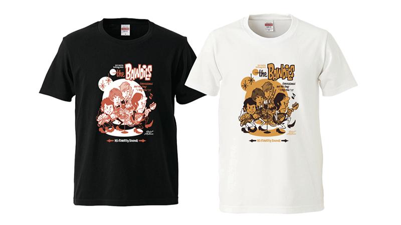 Rockin'Jelly Beanプロデュース EROSTIKA復刻コラボTシャツ