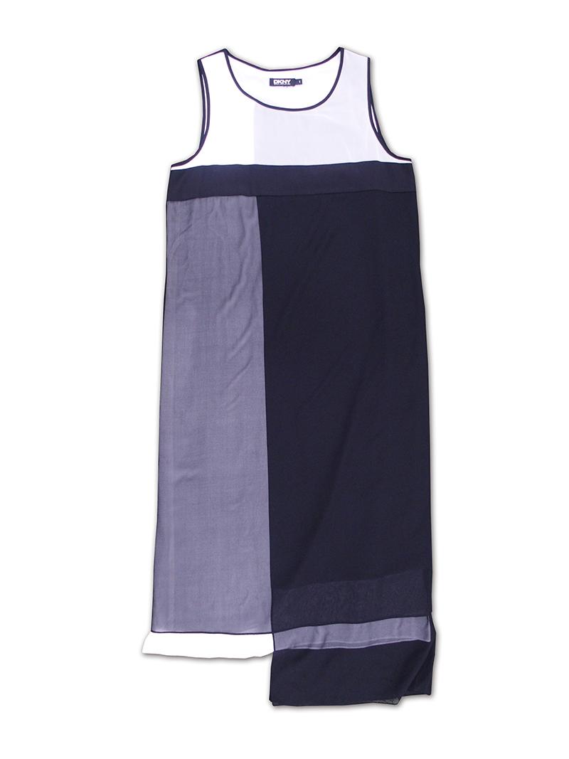 ドレス/白黒KARAN