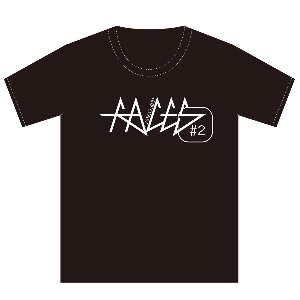 【WIZY限定】「FACSES #2」ポケットTシャツ