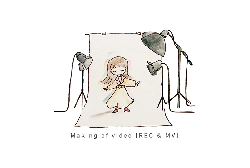 MVメイキング映像QRコード