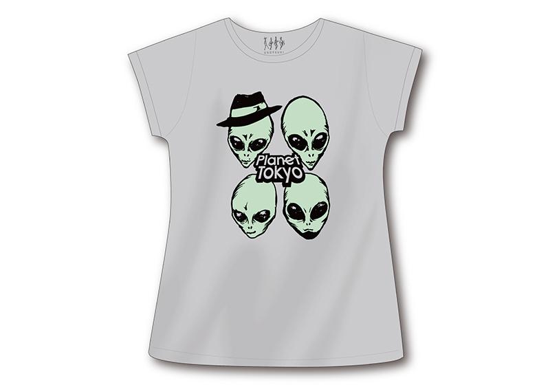 エイリアンワンピースTシャツ