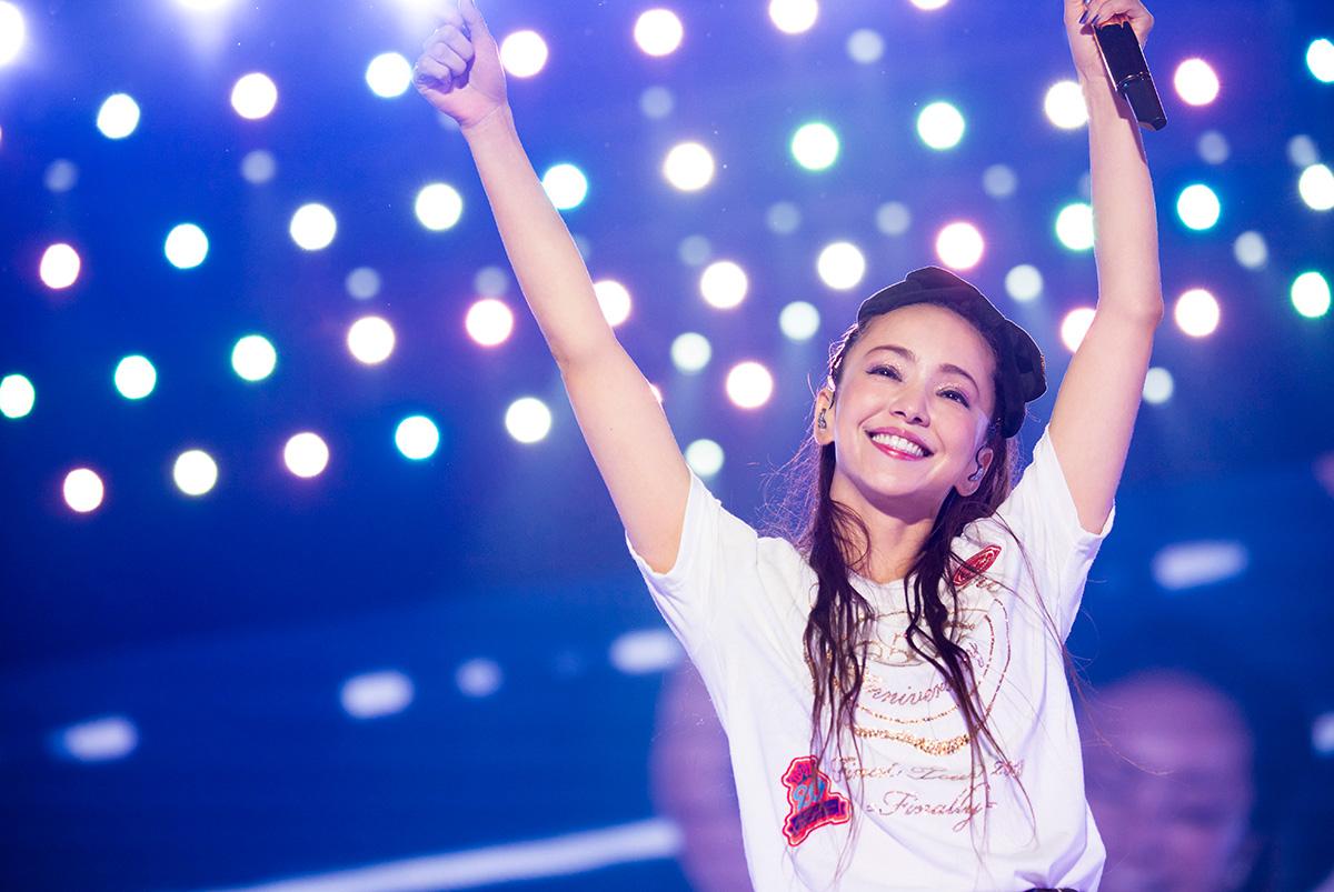 8月29日の新聞広告で安室奈美恵に感謝の気持ちを伝えようプロジェクトの画像