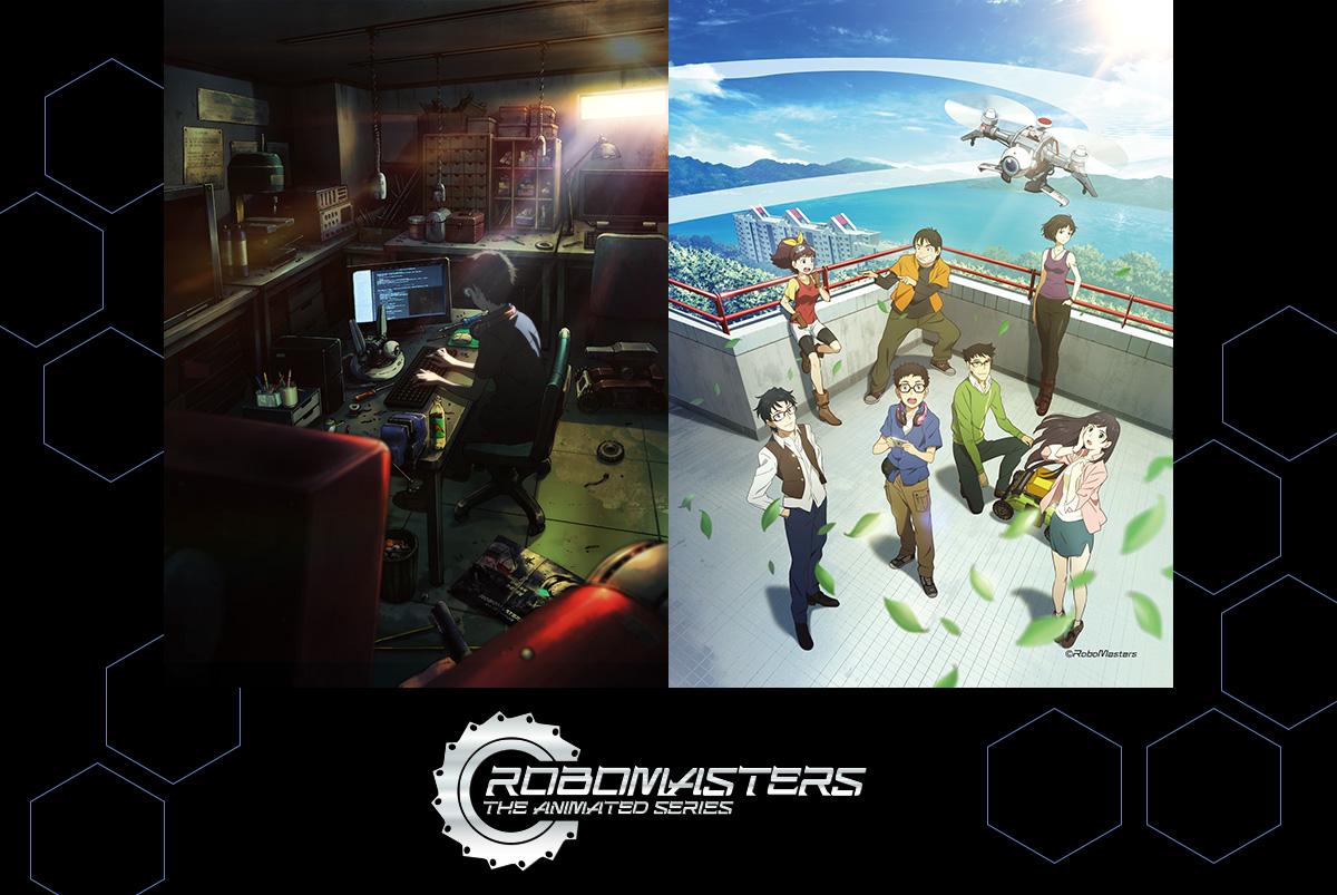 アニメ「ロボマスターズ」のキャラソン&ドラマ入りCDアルバム制作を応援しよう!の画像