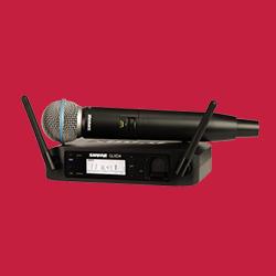 GLX-D ワイヤレスシステム(BETA 58Aハンドヘルド) GLXD24/B58