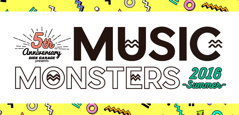 MUSIC MONSTERS-2016 summer-