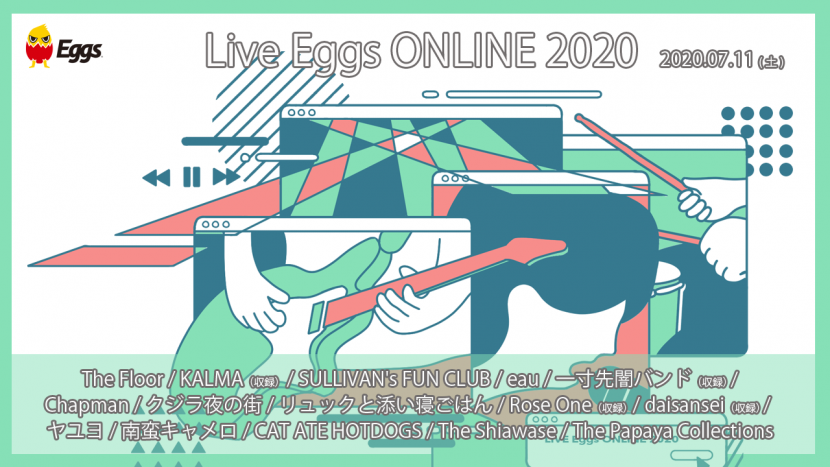 Live Eggs ONLINE 2020