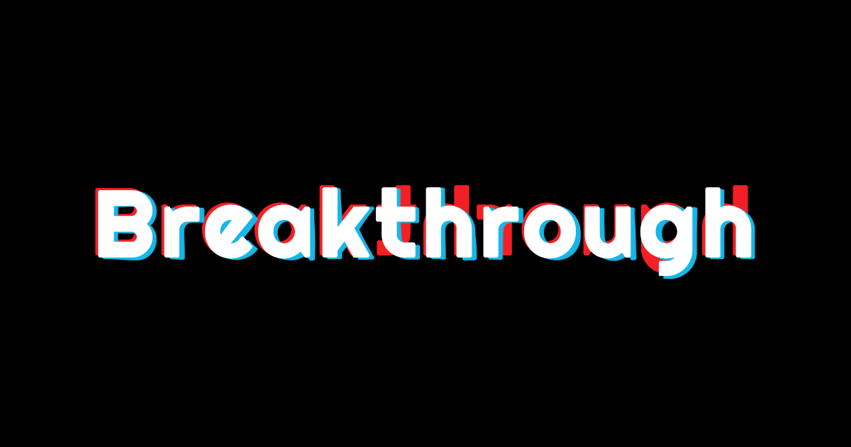 Breakthrough 2020年5月